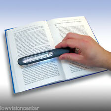 4.5X / 10X Carson MagniLine Bar Magnifier, Book, Low Vision, large print, big