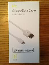 BRAND NEW KIT CHARGE/DATA 1M CABLE LIGHTNING DEVICES APPLE iPHONE 6/5 iPAD/iPOD