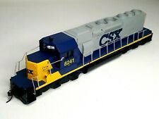Athearn - HO Scale - Diesel Locomotive - CSX - #8241 - Powered - Tested