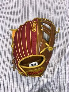 Wilson A2000 WTA20RB18DP15GM Baseball Glove New Never Used Pretreated Palm
