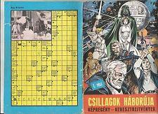 "Hungarian - Ungarisches Comic book adaptation of Star Wars I ""Csillaogk Haboruja"