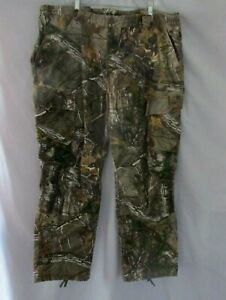 Men's Size 3XL Realtree Camo Hunting Utility Pants RedHead Silent Hide