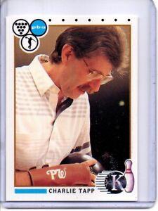1990 PBA BOWLING CARD #99 CHARLIE TAPP
