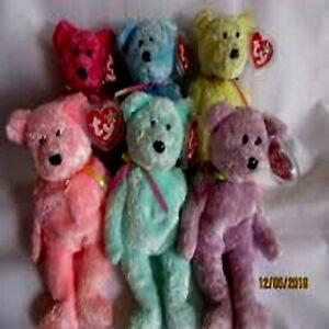 SHERBET BEARS ***TY BEANIE BABIES***