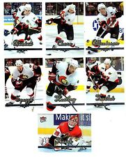 1X OTTAWA SENATORS 2005-06 Fleer Ultra TEAM SET Lots Available NMMT Alfredsson