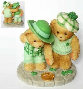 CHERISHED TEDDIES 2002 HAMILTON COLLECTION EXCLUSIVE, IRISH, IRELAND, 869333 NIB