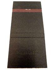 Matchbook Cover ~ PRESTOLITE ELECTRIC Plymouth MI Rear Strike 30 Universal Match