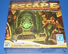ESCAPE The Curse of the Temple Queen Games Board Game NEW SEALED
