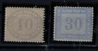 G128680 / GERMANY / REICH / MI # 12 – 13 MH * CV 250 $