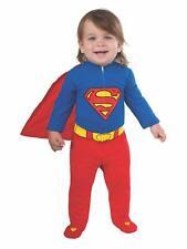 Superman Superheroe Disfraces Para Bebe Niño  6-12 Meses Disfraz Halloween
