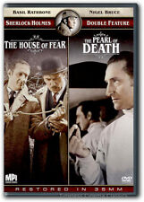 Sherlock Holmes The House of Fear/The Pearl of Death DVD New Basil Rathbone