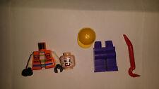 Lego - Joker's Goon Minifig - From Retired Set 76013 - DC Heroes Batman