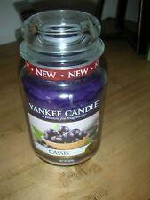 Yankee Candle Large Jar CASSIS NEW