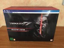 Coffret TEKKEN 7 Collector's Edition pour PlayStation PS4 en état neuf sans jeux