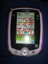 Leapfrog LeapPad Handheld Learning Tablet Purple/pink with Gel Skin travel case
