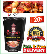 NEW Blove's Smackalicious Seafood Boil Sauce Seasoning Mix (Spicy) FREESHIPPING