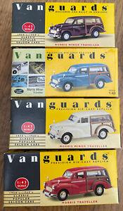 LLEDO VANGUARDS VA10001 VA10005 VA10006 VA10007 MORRIS MINOR model road car 1:43