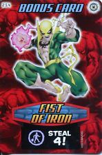 Spiderman Heroes And Villains Card #254 Fist Of Iron