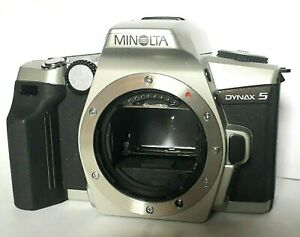CAMERA > MINOLTA - DYNAX 5 - 35mm - Lithium Battery NO LENS - BODY ONLY