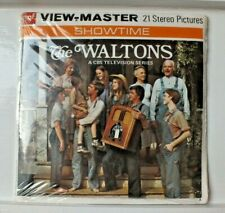 * MINT & SEALED * THE WALTONS 1972 VIEWMASTER REELS SET B596 RARE  D579