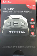 Cobra RAD450 Radar And Laser Detector