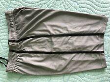 Men Fila Sport performance gray black stripes shorts w/string small S new!