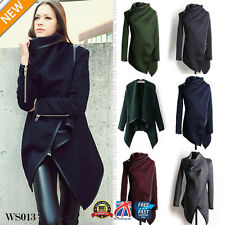 Winter Ladies Casual Long Coat Warm Womens Slim Collar Jackets Outwear Top WS013