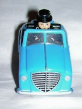Thomas Tank engine Sodor mayor Sir Topham Hatt in diecast blue car 2008 Gullane