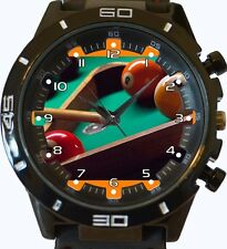 Snooker Billiard Ball Game New Gt Series Sports Unisex Gift Watch
