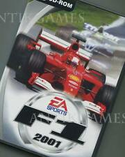 F1 2001 Fia Formula One 1 EA Sports Erstauflage