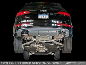 AWE TUNING 2014-2017 AUDI SQ5 3.0T TOURING EXHAUST SYSTEM AND BLACK 102MM TIPS