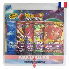 Dragon Ball Super Card Game - Pack Collector 4 boosters : Malicious Machinations