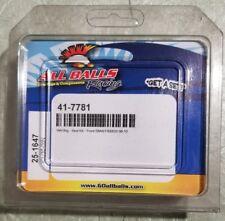 All balls wheel bearing seal kit Front BMW F800GS 06-10 #41-7781 mfg#25-1647