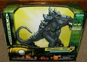 Godzilla Shatter Tail Electronic Action Figure with Power Strike Tail Slam
