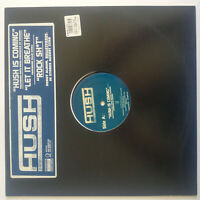 "Hush ‎– Hush Is Coming / Let It Breathe / Rock Shit - Vinyl, 12"", Promo - USA"