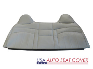 98 -03 Ford F250,F350 Standard Work Truck Bench Lean back Seat cover Vinyl Gray