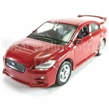 Welly 1:60 Die-cast 2015 Subaru WRX STI Car Red Color Model Collection New Gift