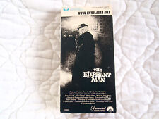 THE ELEPHANT MAN VHS ANTHONY HOPKINS JOHN HURT GIELGUD ANNE BANCROFT DAVID LYNCH