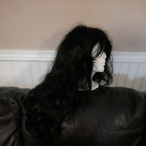 West Bay Synthetic - Long Curly Black