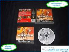 Wanted - rare PS1 black label game with manual - SAFE BOXED POST