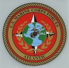 UNITED STATES MARINE CORPS FORCES ATLANTIC DECAL STICKER