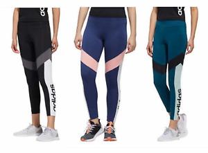 Adidas Women Aeroready Colorblock Legging Tight Adidas Logo XS S M L