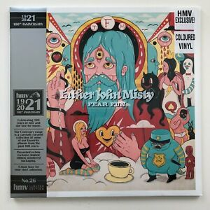 Father John Misty - Fear Fun   LP HMV Orange Colour Vinyl Record   New Sealed