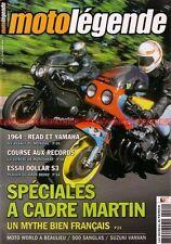 MOTO LEGENDE 151 MARTIN HONDA CBX 1000 GSX 1100 SUZUKI VANVAN SANGLAS 500 S2