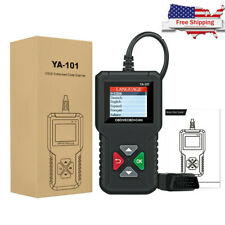 YA101 Code Reader Car OBD2 Scanner Check Engine Fault Diagnostic Tool US Stock