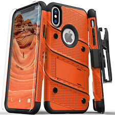 iPhone X / Xs / Xs Max / XR case, Zizo BOLT Screen Protector Holster Kickstand