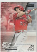 2018 Topps Stadium Club NEVER COMPROMISE - MIKE TROUT - Los Angeles Angels NC-MT