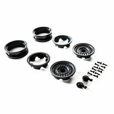 1.9 MW19 Beadlock Wheels - Black (2pcs) Z-AXI31629