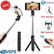 For Cell Phone Holder Selfie Stick Tripod Remote Extendable Desktop Stand Desk