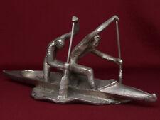 Russian Soviet Flat water Canoe Kayak sculpture statue bust Olympic sport RARE
